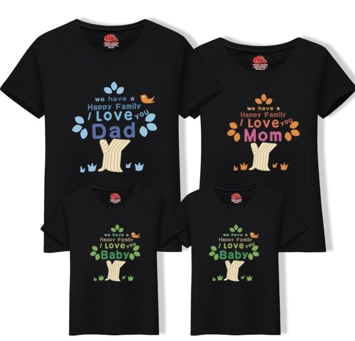 c3252fae 2019 New Family Look Mom Dad Child T Shirt Cotton Cartoon O Neck T Shirt  Clothes Matching Family Tops Kids Mother Clothing Fy053 Mother And Daughter  ...