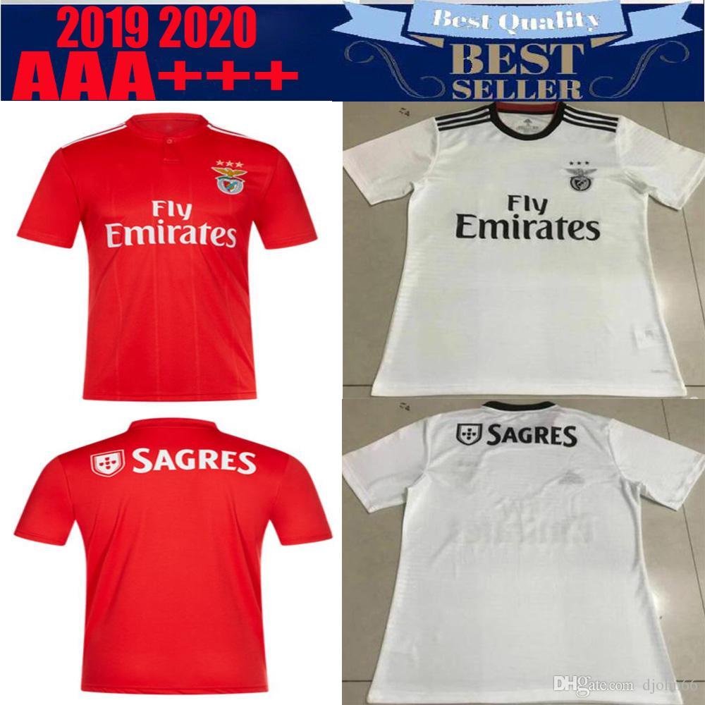 best service bcf76 04064 SL Benfica Soccer Jersey T shirt 18/19 JOÃO FÉLIX Home Football Shirt JONAS  T-shirt PIZZI Shirts Camisa Camiseta Maillot