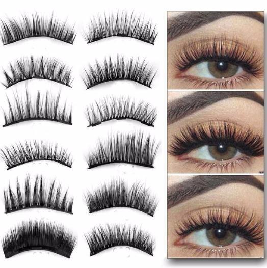 719676b647e 0.07 Triple Magnetic False Eyelashes Extension Tools Full Coverage Glue  Free Magnets Eye Lashes Thick Long Makeup Tools Lash Extension Eyelash  Enhancer From ...