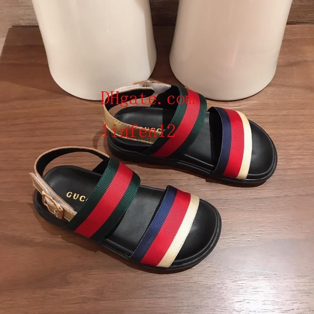 3451fedcb3 Compre 2019 Sandálias Crianças Verão Crianças Sapatos De Bebê Brinquedos  Melhor Cuidado Para Os Pés Do Bebê Não É Fácil De Puxar Menina De Linfen12