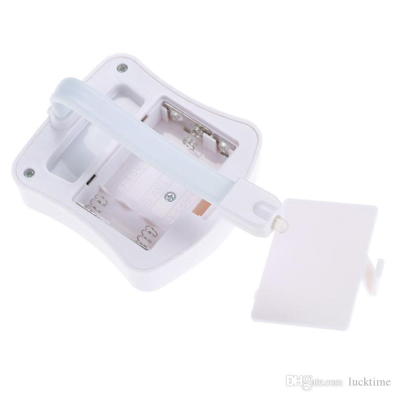 Sensor de movimiento inteligente Sensor de inodoro Asiento de inodoro Luz de noche es Retroiluminación impermeable para el inodoro LED Luminaria Lámpara WC Light Ligh