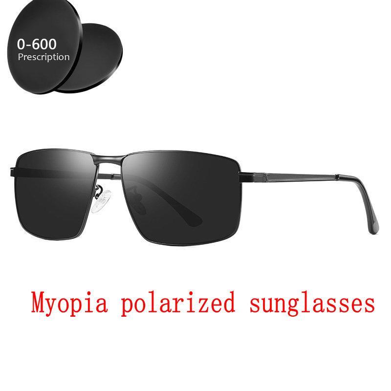 60f154ad19 Women Myopia Prescription 1.0 6.0 Finished Polarized Myopia Sunglasses  Square For Male Eyeglasses Driving Goggles FML Locs Sunglasses Suncloud  Sunglasses ...