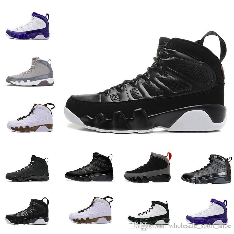 b319e58eeef33a 2019 2018 9 9s Men Basketball Shoes LA Bred OG Space Jam Tour Yellow PE  Anthracite The Spirit Johnny Kilroy Sports Trainers Sneakers From ...