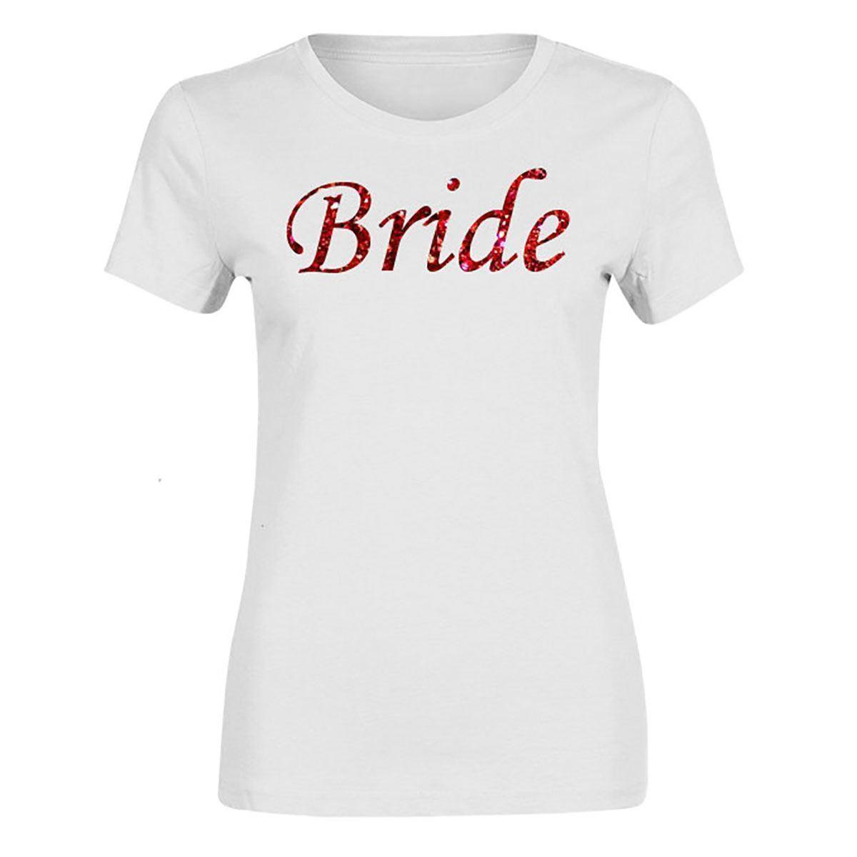 eb95100f76 Team Bride To Be Mother Of Bride Tribe Top Ladies T Shirt Hen Do Party  Printed