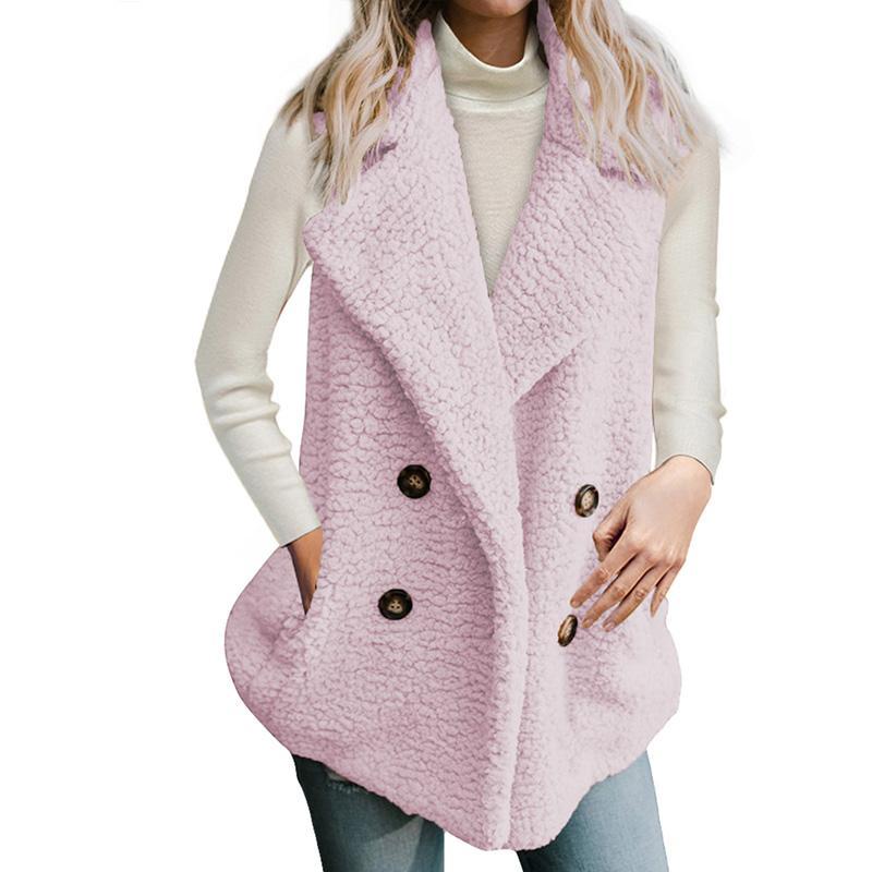 buy online e1176 984aa Tasche oversize cappotto donna giacca plus size 2018 nuovo inverno caldo  cappotti pelosi autunno tuta sportiva femminile soprabito LC250067