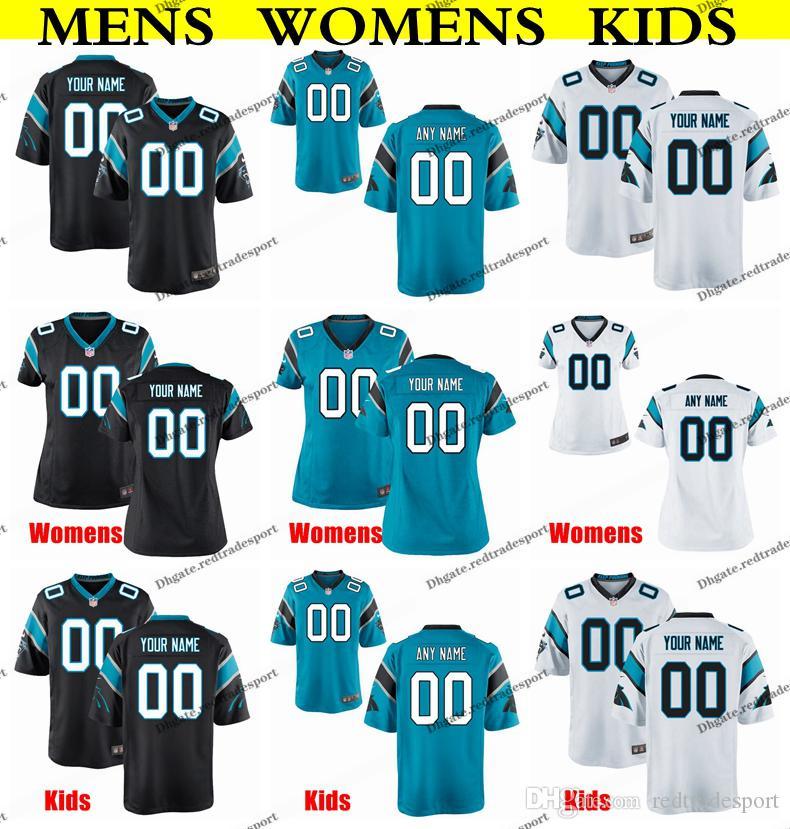 lowest price 9297d 112f5 Customize Carolina Mens Womens Kids Panthers Brian Burns 10 Samuel 90  Julius Peppers 67 Ryan Kalil 25 Reid 88 Greg Olsen Football Jersey