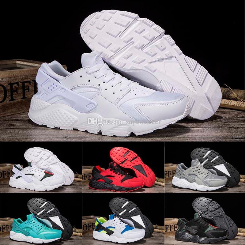 7711ffa131e9 Hot Sale New Air Huarache Running Shoes Trainers Men Women Outdoors Shoes  Huaraches Sneakers Size 36-45 Air Huarache Running Shoes Sneakers Online  with ...