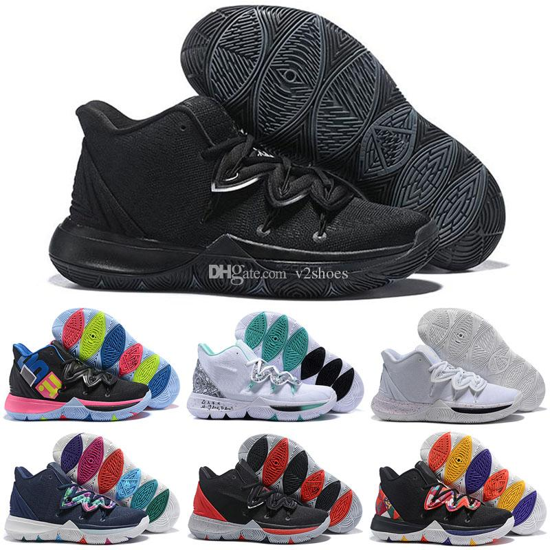 98de19a39975 New Arrival V 5 Five Taco Black Magic Mens Kyrie 5 Basketball Shoes  Championship MVP Finals Trainers 5s Sports Sneakers Sneakers Jordans From  V2shoes