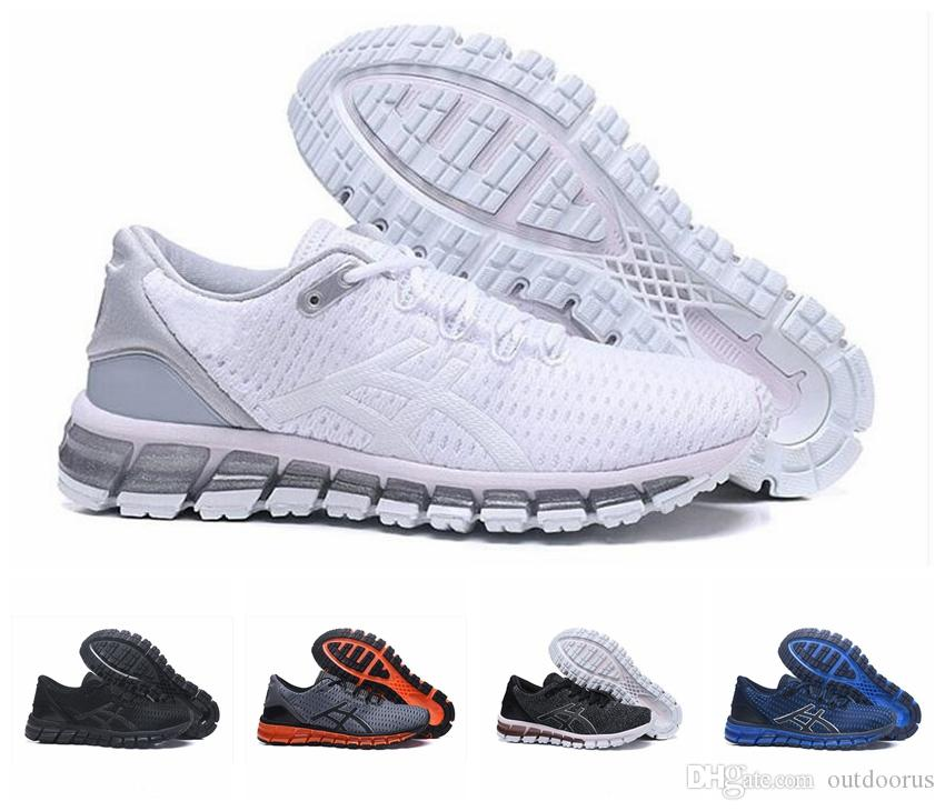 free shipping 05713 8a80a 2019 Gel-Quantum 360 II New design Gray White Black Mens Cushion Running  Shoes Original 2 2s Best Quality Athletic Sneakers