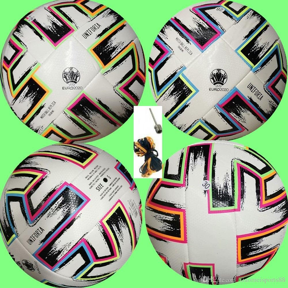 New Top Quality European Cup Soccer Ball 2020 Final Kyiv Pu Size 5 Balls Granules Slip Resistant Football Free Shipping High Quality Ball