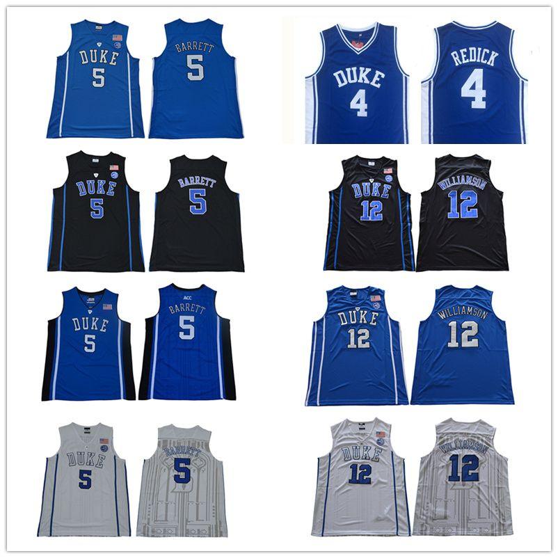 brand new 8fd8d acba9 Mens RJ Barrett Jersey Duke Blue Devil J.J. Redick Zion Williamson College  Basketball Jerseys Stitched Size S-XXL