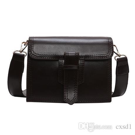 Simple PU Leather Women Crossbody Bag Fashion Japan And Korean Style ... cd6a6a83b4ec3