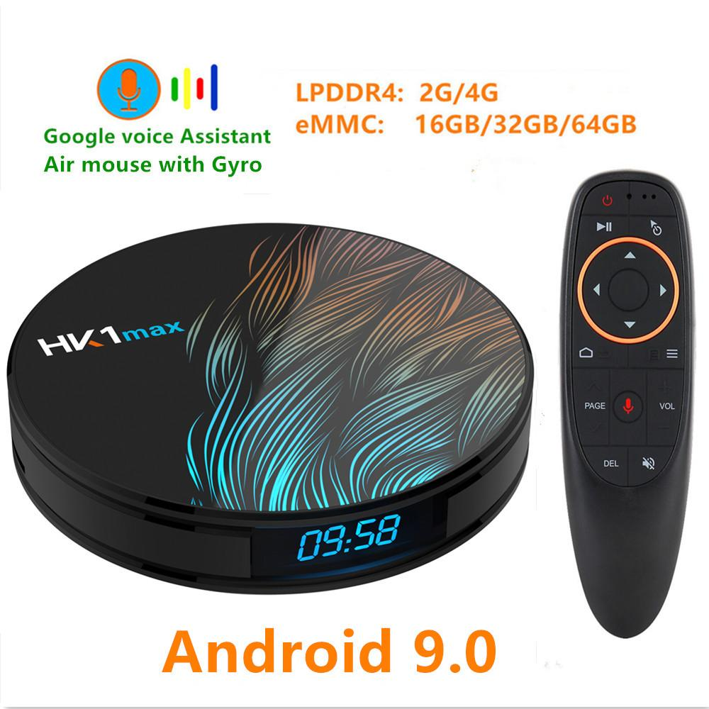 Android 9 0 Smart TV BOX Google Assistant RK3328 4G 64G TV receiver 4K Wifi  Media player Play Store Free Apps Fast Set top Box