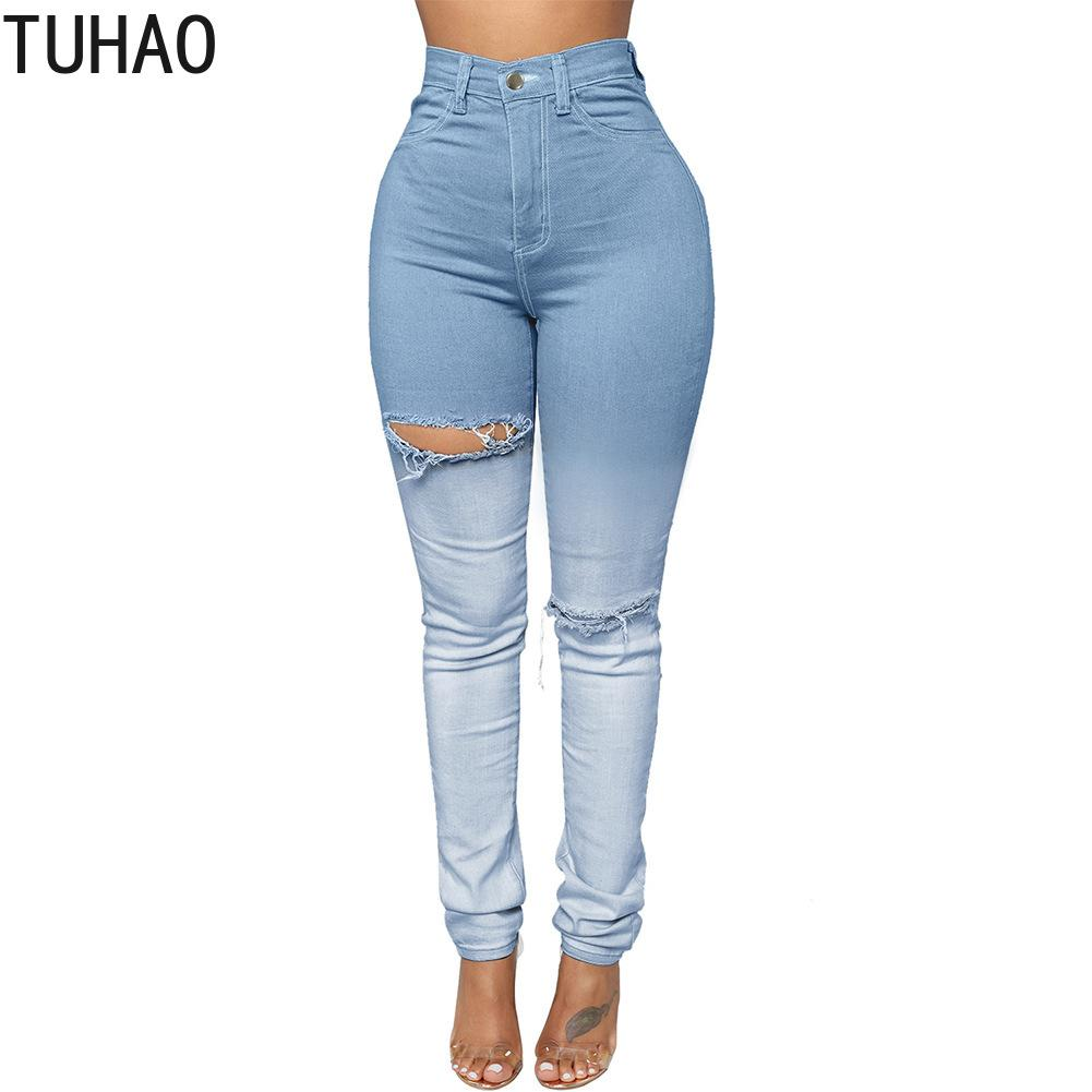 093c6f6161 2019 TUHAO 2019 Spring Boyfriend Jeans Feminino Casual Push Up Denim Jeans  Strech High Waist Skinny Pants Fit Bodycon Trousers DLM From Vangoha
