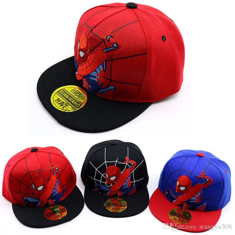 d0336123446 Hip Hop Baby Baseball Caps 2019 Spring New Cute Cartoon Letters Children Hat  Outdoor Casual Caps Boy And Girl Sun Hats Snapback Cap Rack Caps From  Wangyu306 ...