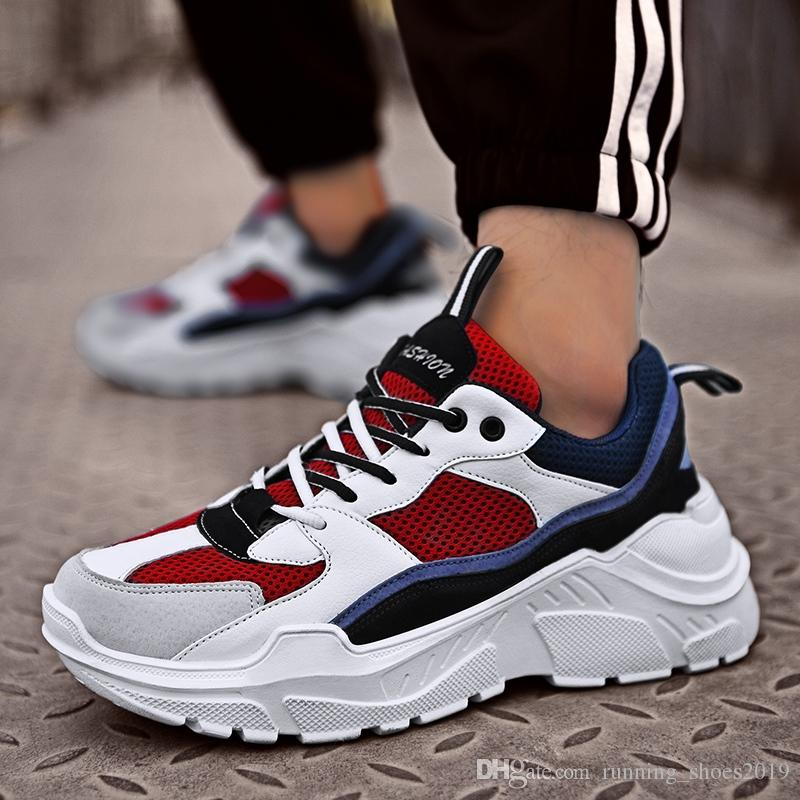 26f21ffa385 POLALI INS Vintage Dad Sneakers 2018 Kanye West 700 Light Breathable Men  Casual Shoes Zapatillas Hombre Casual Tenis Masculino  129654 Casual Shoes  Casual ...