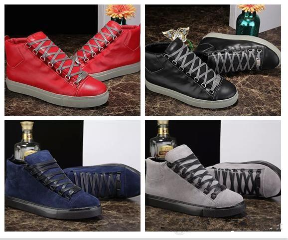 dcf2c9d69ef6 Summer New Designer Classic Man Genuine Leather Arena Shoes Flat ...