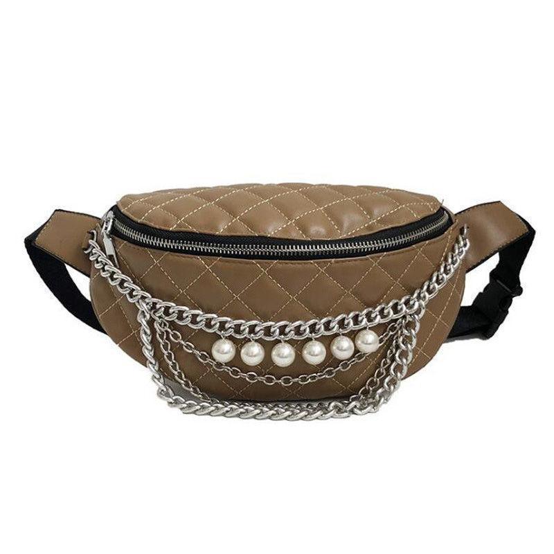 Good Quality Waist Bag Luxury Women Waist Pack Leather Belt Bag ... 9a6ddf3c91342