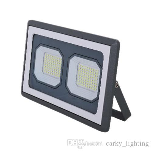 100W 150W 200W LED Flood Light COB Industrial Lighting AC85-265V White Color 6000K Aluminum Body IP66 Waterproof Outdoor Application CE ROHS