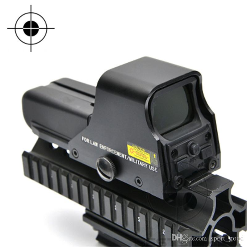 Vendita calda 552 Vista holográfica Red Dot Scope Reflex Para la caza de picatinny 20mm rail mount