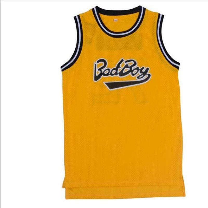 7281db8f00151 Acheter Personnalisé Pas Cher Personnalisé Maillot De Basket Ball Bad Boy  Notorious B.I.G.Biggie Smalls 72 Cousu Personnalisez Tout Nom De Numéro  HOMME ...