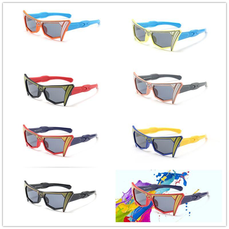 73697bfb17e9 2019 Cartoon Kids Rubber Polarized Sunglasses Unbreakable Children Girls  Boys Age 3 12 Mens Sunglasses Police Sunglasses From Ppfashionshop, $3.05|  DHgate.