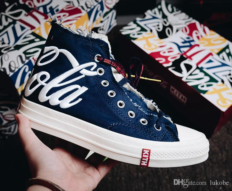 2e93ca836da631 Fashion Converse 1970s NEW KITH COCA COLA COKE CONVERSE CHUCK TAYLOR ALL  STAR 70S Skate Shoes Originals Classic 1970 Canvas Shoes Jointly Name CDG  Play Big ...