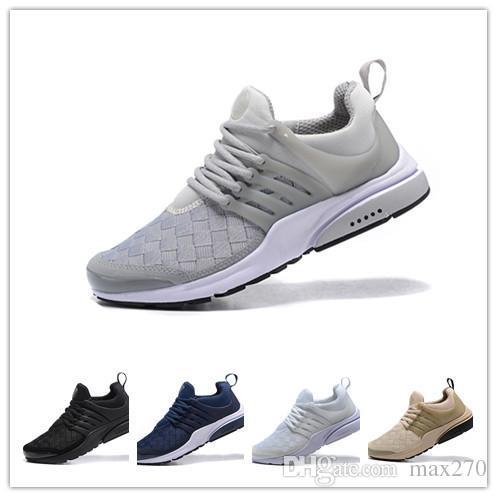 new concept a6b6f 58755 Hot Sale Men Women Presto Qs 805 Running Shoes Mens Designer Sneakers  Zapatillas Hombre Prestos Mesh Airs Sport Tn Trainers Sizes Eur40-46