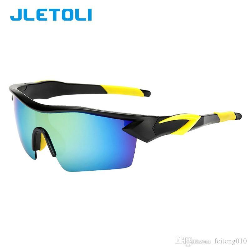 1b828f397a JLETOLI Aire Libre Ciclismo Gafas De Sol Hombres Gafas Deporte Gafas ...