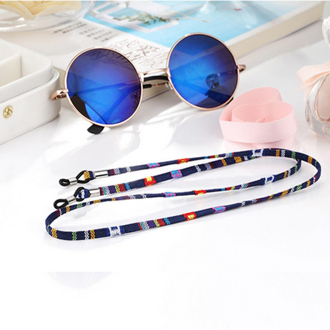 6d2d90a743 2019 Fasion Eyeglass Sunglasses Cotton Neck String Cord Retainer Strap  Eyewear Lanyard Holder With Good Silicone Loop From Sohucom