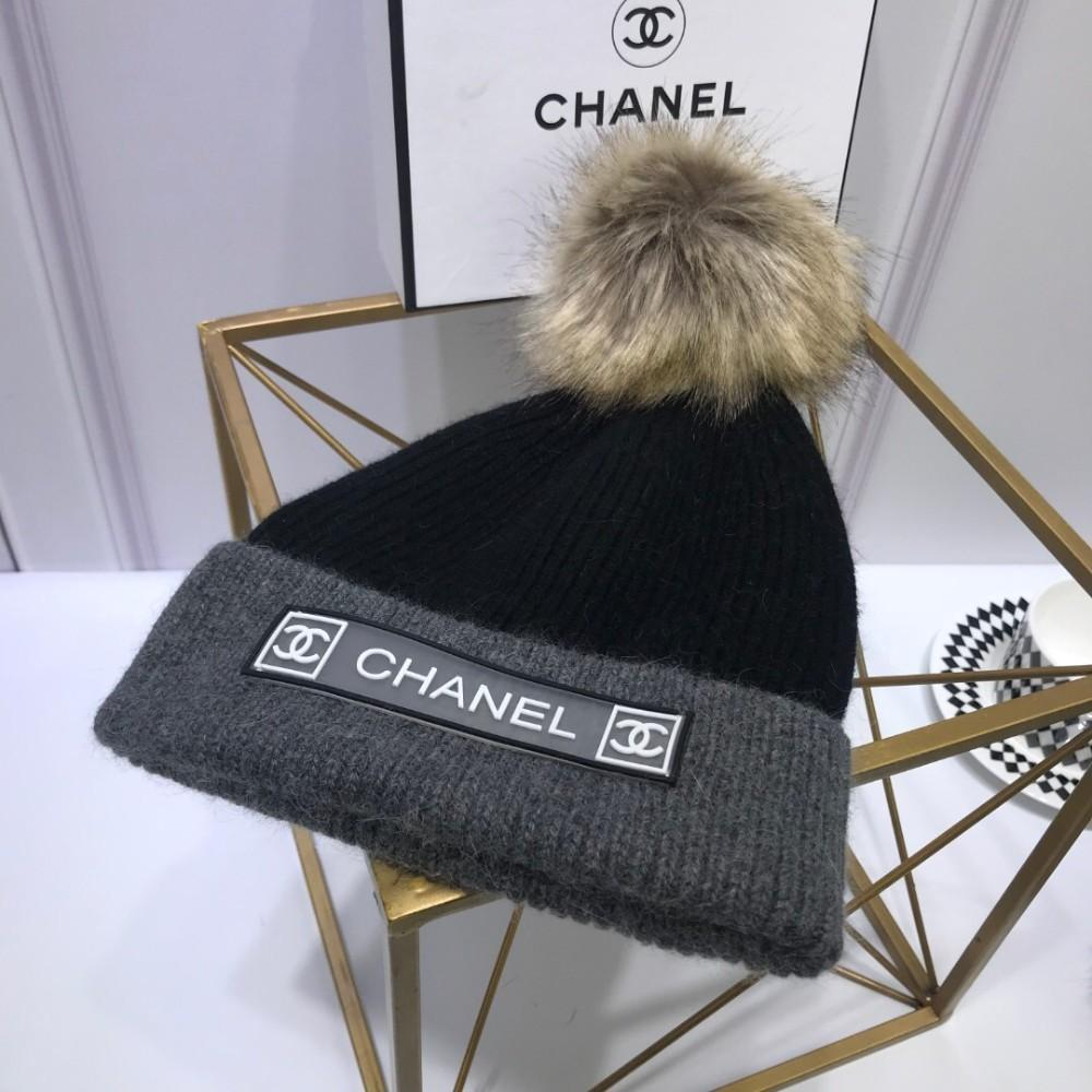 d0682da38a2a3 2019 High End Custom Knit Hat Tight Knit Method Very Thick%50 Wool%50  Rabbit Hair From Wsj288