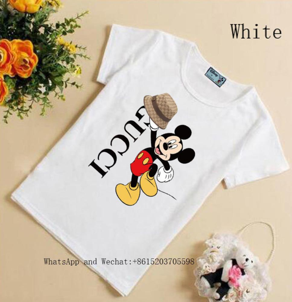 Boys Short Sleeve Summer Pure Cotton Korean Edition cute High quality girls T-shirt 031605