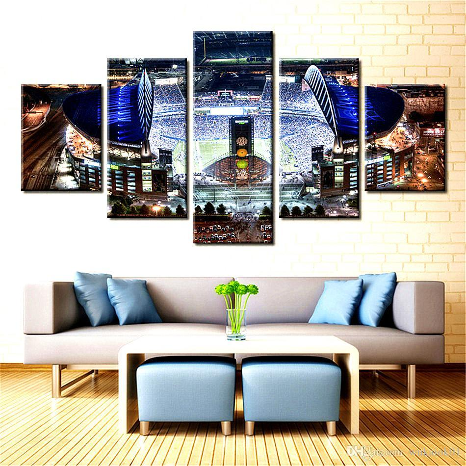 New Sale Landscape,5 Pieces The Latest Most Popular High-definition Canvas Printed Home Decorative Art/ Unframed / Framed