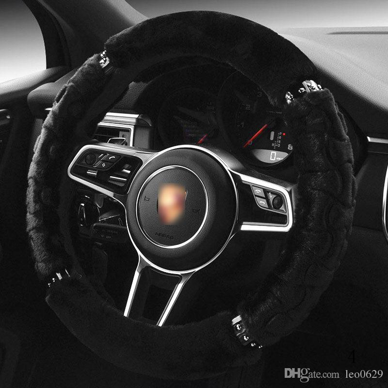 Car Steering Cover DIY Steering Wheel Covers Soft for BMW Wheels X3 M6 325i  330i 335i 525i 535 e46 m3 e60 Steering Whee Cover e90 Parts f25