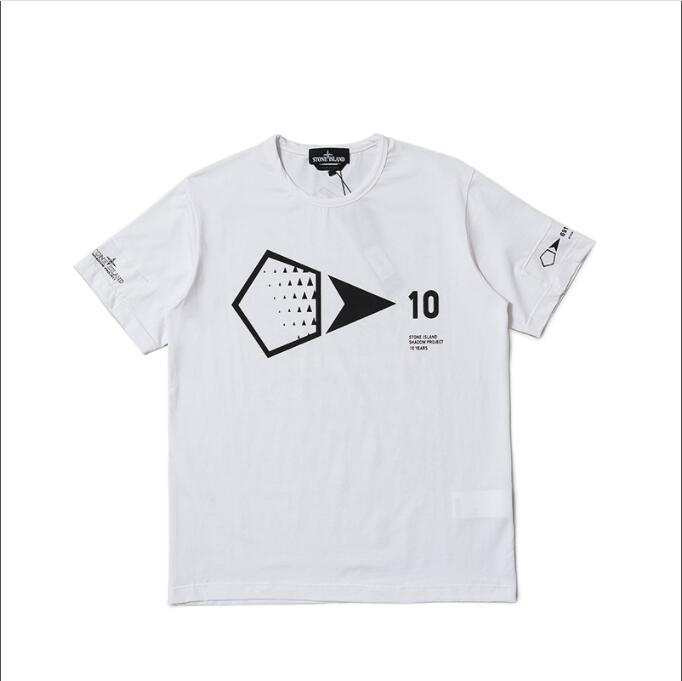 45c9e7a834 2019 Summer T Shirt For Men Brand Designer tshirts with letters Crew Neck  Luxury Mens Shirts Tops Short Sleeve Tee Clothing