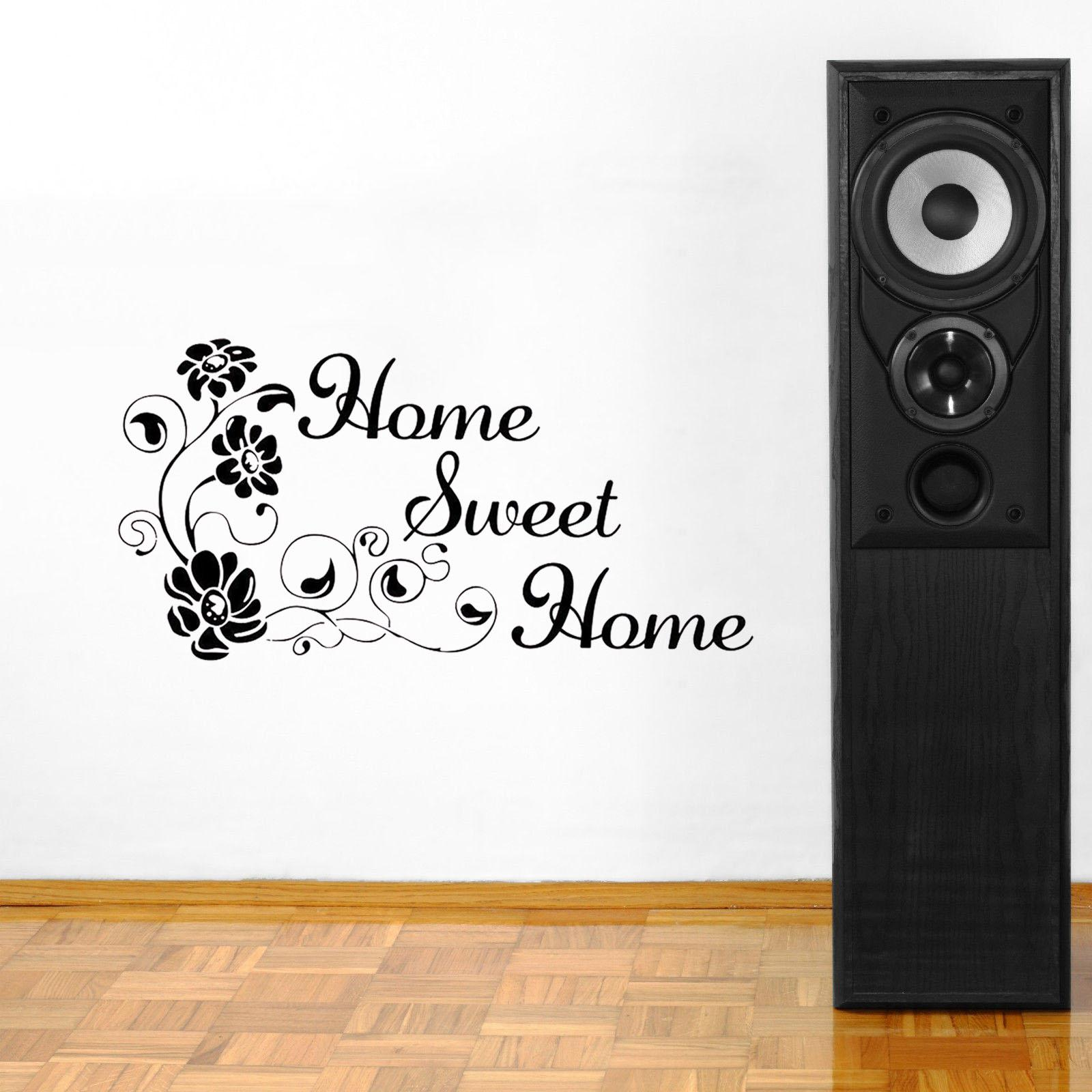 Flower Art Vinyl Quote Wall Sticker Applique Mural Home Room Decoration Vinyl Residential Decoration Modern