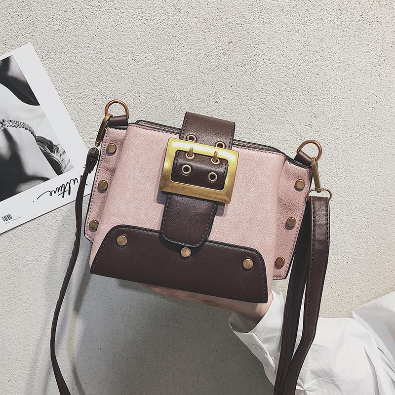 4996257951468 Großhandel Vintage Mode Weibliche Eimer Tasche Neue Qualität PU Leder Damen  Designer Handtasche Niet Schulter Umhängetasche Crossbody Von Clzone