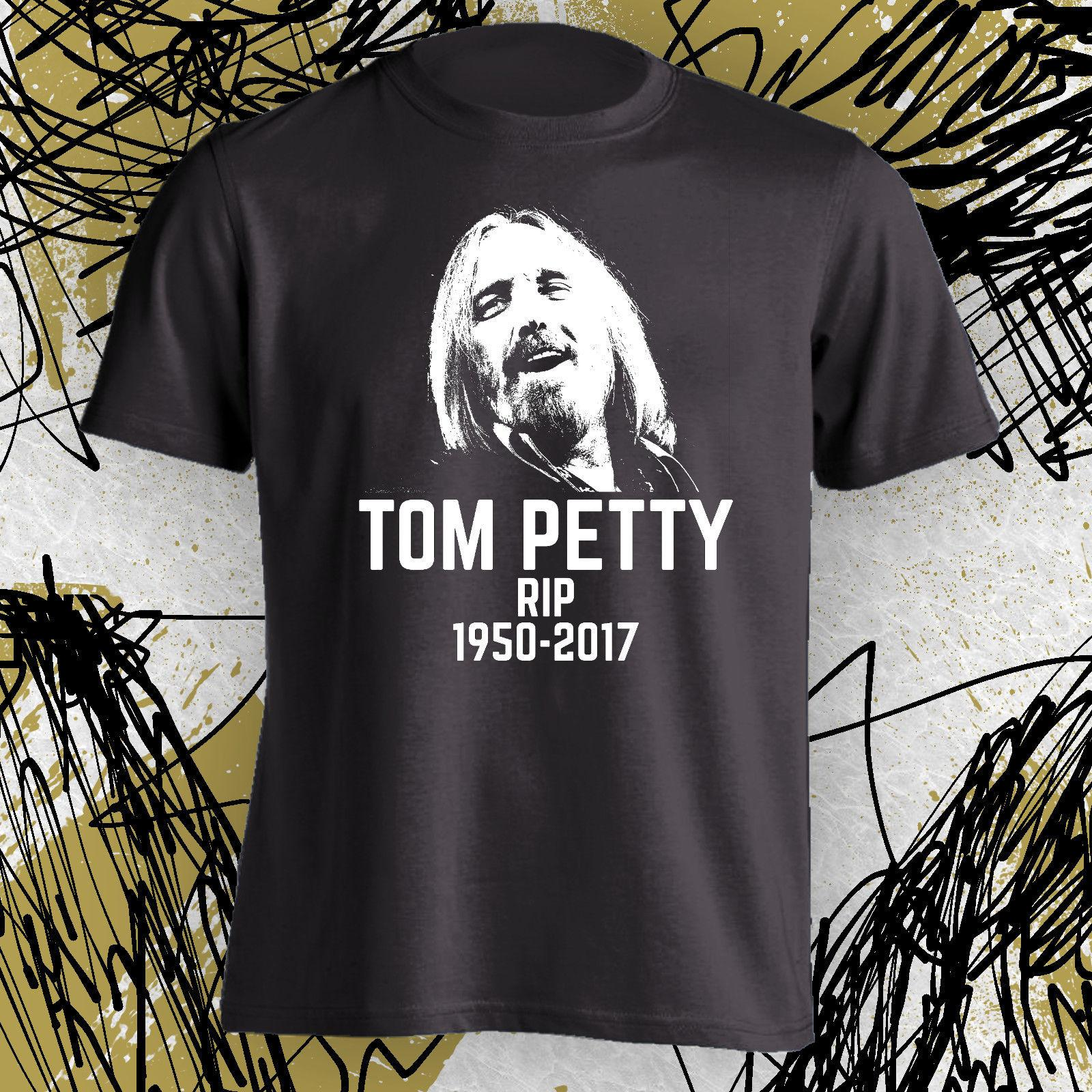 In Memory T Shirt Designs | Rip Tom Petty In Memory Of A Legend T Shirt Memorial Adult Sizes S