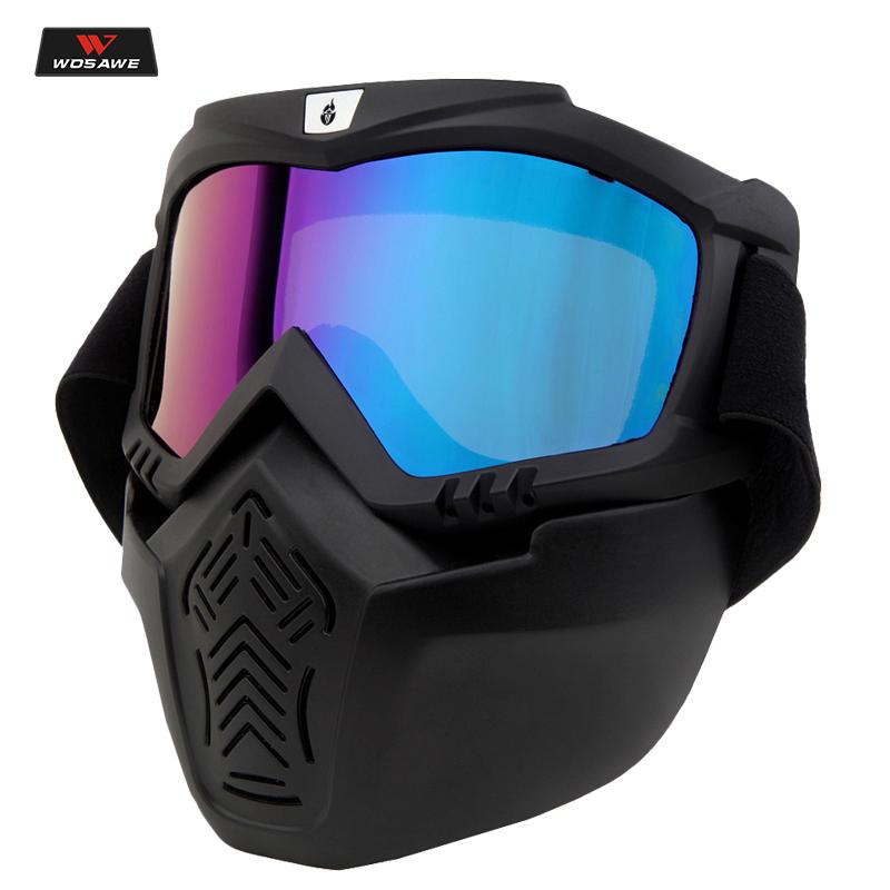b1685f2c1d WOSAWE Men Women Ski Snowboard Snowmobile Goggles Mask Snow Winter Skiing  Ski Glasses Motocross Sunglasses Skiing Eyewear Cheap Skiing Eyewear WOSAWE  Men ...