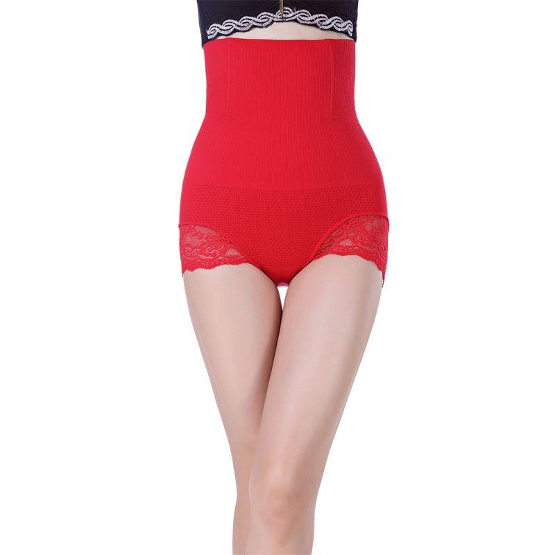 000a4abec67a 2019 Womem Sexy Slimming High Waist Underwear Women Shapewear Briefs Thin  Mid Lumbar Abdomen Hips Lace Lingerie Body Shapers From Goddard, $43.86 |  DHgate.