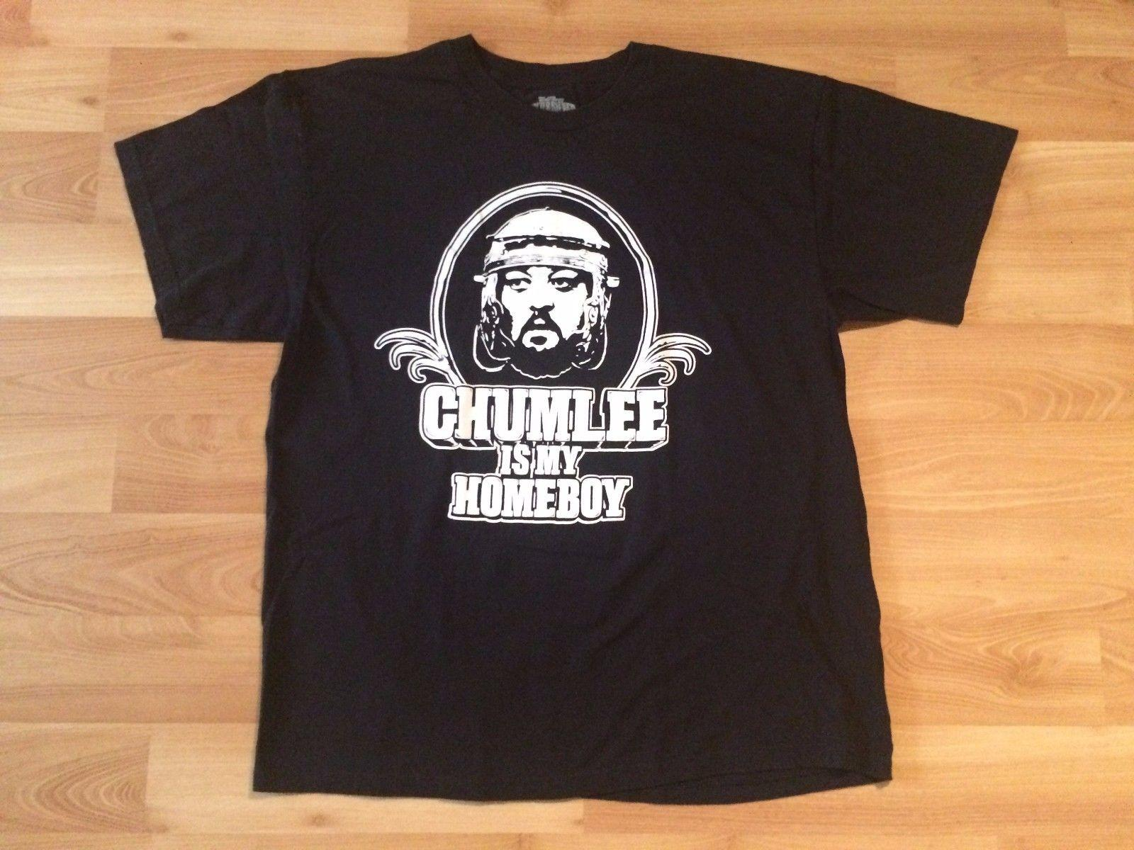 Authentic Chumlee Is My Home Pawn Stars Maglietta Mens Xl Black World Famous V