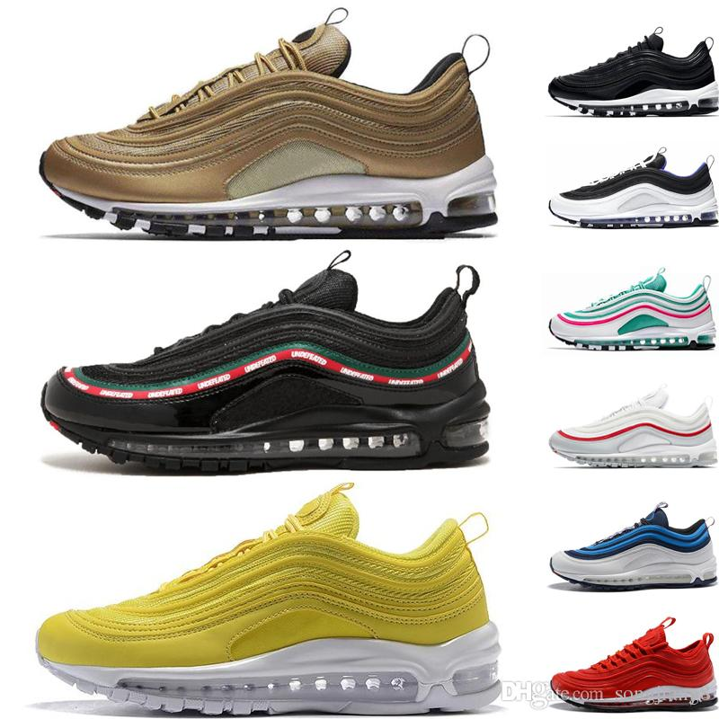 Nike air max 97 A buon mercato New Mens Plus Tn Designer Scarpe Chaussures Homme Plus Donna Sport Sneaker Zapatiallas Hombre Tns Airs Cushion Run Scarpa canzone