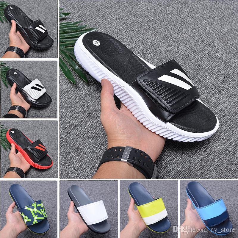 c6582fc6594c Cheap Designer Slipper Gear Bottoms Mens Striped Sandals Causal Non ...
