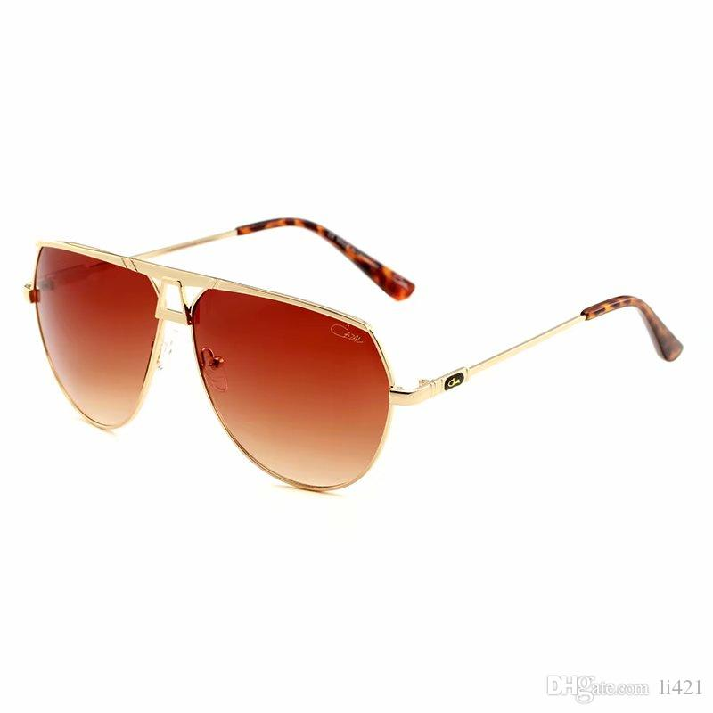 953 new luxury logo sunglass attitude sunglass gold frame square metal frame vintage style outdoor design classical model