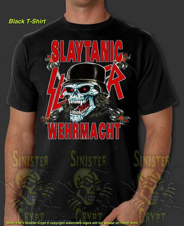 4eaa154b489a Slayer Slaytanic Wehrmacht Metal Band Retro New T Shirt S 6XLFunny Unisex Casual  Tshirt Top Best Sites For T Shirts Tee Shirt Deals From Classicclobber, ...