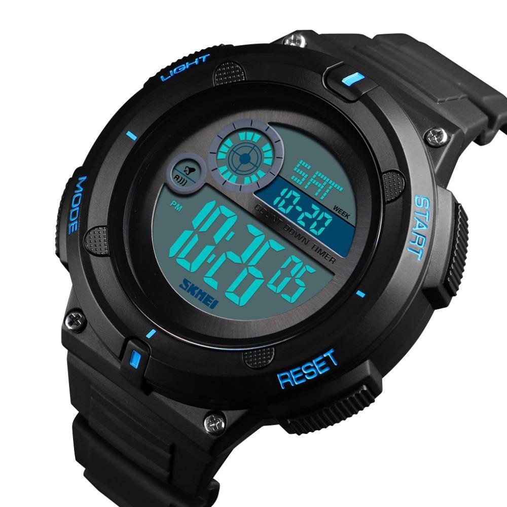 882cea172193 Compre SKMEI Reloj Digital Para Hombre Reloj Deportivo Al Aire Libre Nueva  Marca 50 M Impermeable 2 Hora Reloj Despertador 2019 Montre Homme Relojes  Para ...