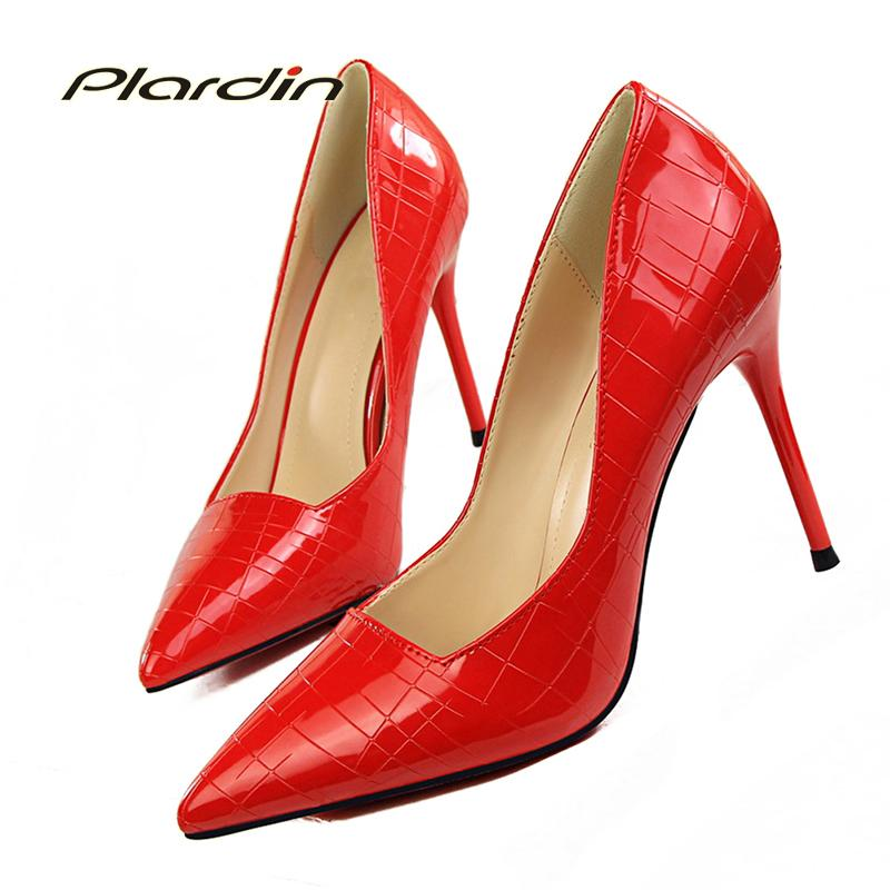 d0fd0e0ec3cf Dress Plardin Sweet Fashion Party Casual Ladies Sexy Stone Texture Thin  High Heels Suede Material Women S Pumps Women Shoes High Heel Black Shoes  Nude Shoes ...