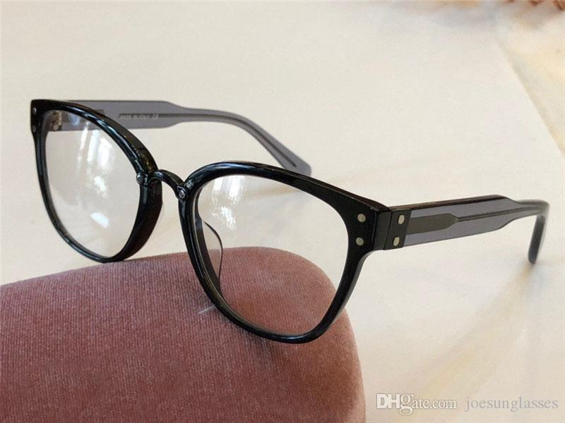9b0bcdc5fb Compre 2018 Nuevo Diseñador De Moda Gafas Ópticas 04 Cat Eye Frame Calidad  Superior HD Protección Al Aire Libre Gafas Estilo Noble Simple A $50.77 Del  ...