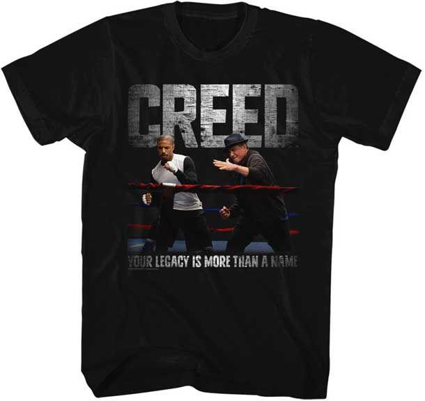 Rocky Balboa T Shirt New Licensed Creed Embrace The Legacy Black Tee S 4xl