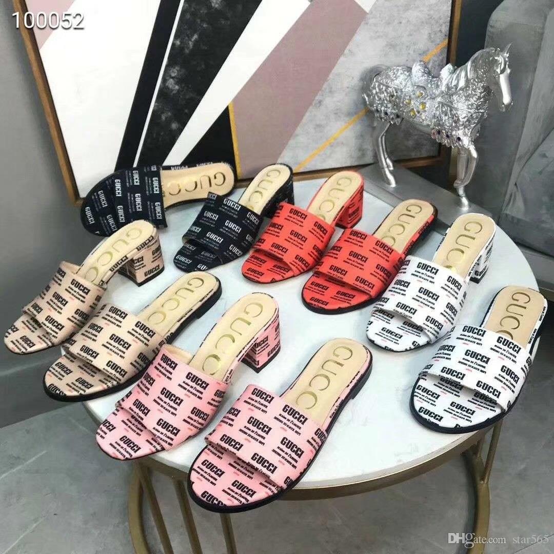 superstar 2019 femmes sandales Super marque designer sandales mode casual cuir de qualité supérieure travail livraison gratuite avec boîte n26